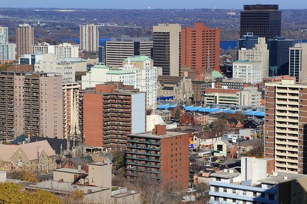 Downtown Hamilton Ontario