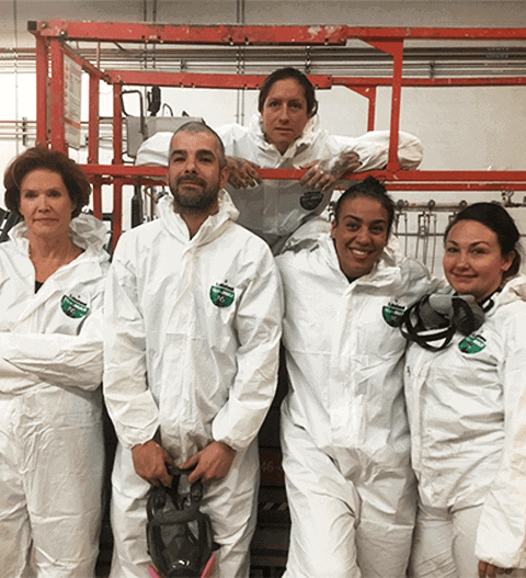 Absolute Mold Remediation team